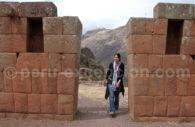 Vestiges incas de Pisac