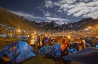 Campement de Qoyllur Riti