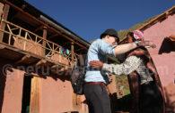 Rencontre de la communauté d'Huayllafara