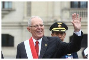 Investiture du Président Péruvien