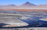 Lagune en Bolivie