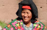 Péruvienne, Lac Titicaca