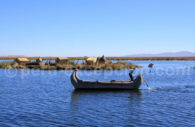 Embarcation de totora