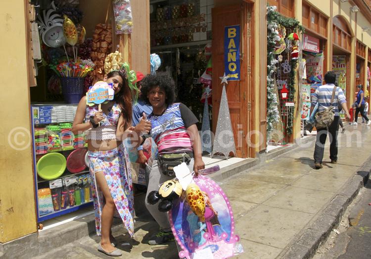 Habitants de Lima