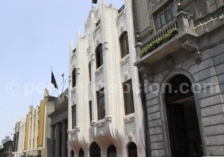 Architecture Art Nouveau, Lima