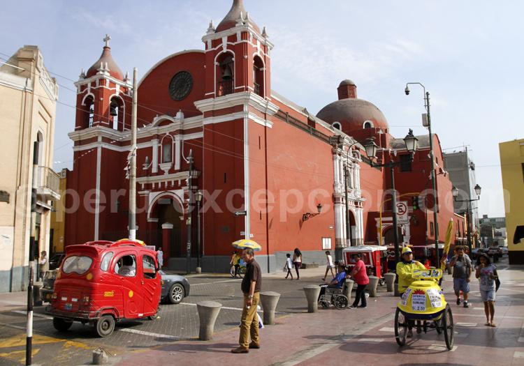 Eglise de Santa Ana, Lima