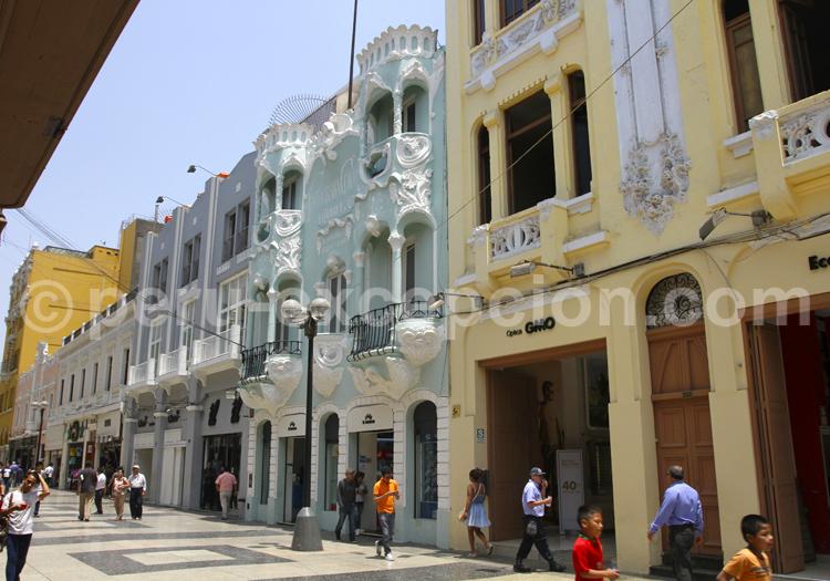 Architecture coloniale, Lima