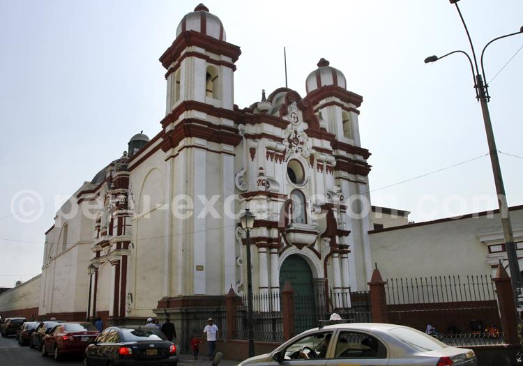 Eglise et couvent de Trinitaria, Lima