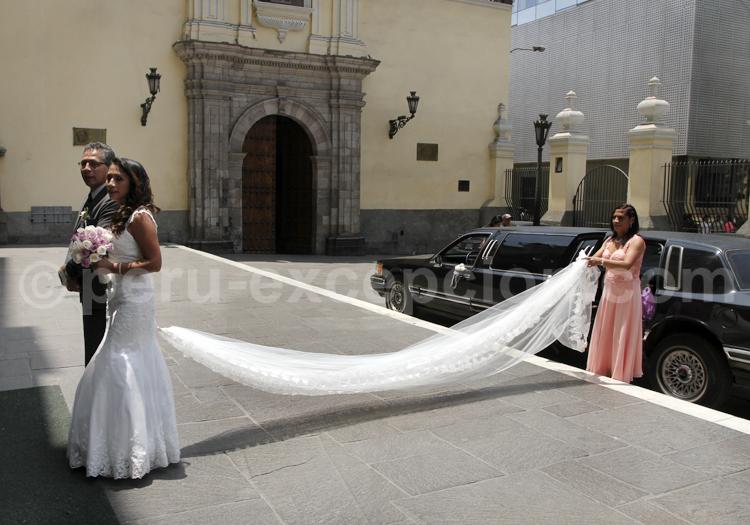 Un mariage à Lima