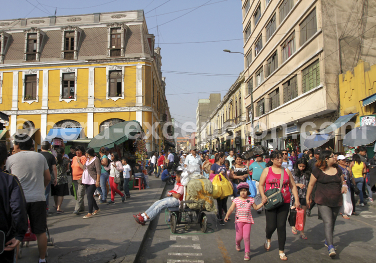 Voyage au Pérou, Lima