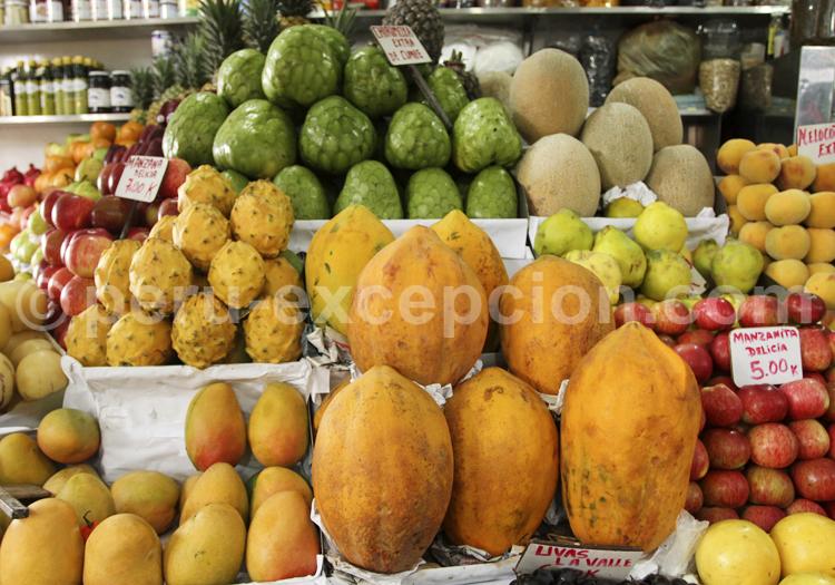 Fruits exotiques, Pérou