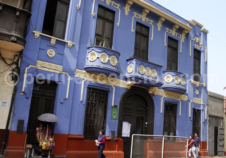 Façade décorée, Lima
