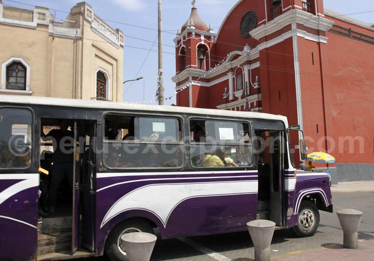 Transport en commun, Lima