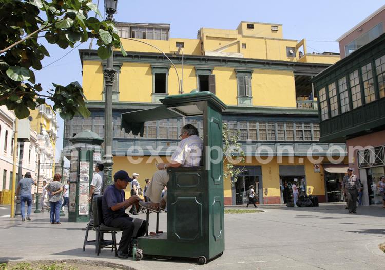 Cireur de chaussures, Lima