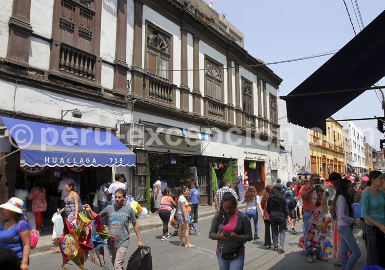 Lima, Quartier historique