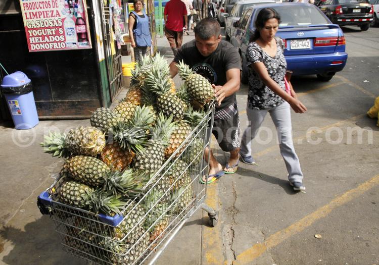 Ananas, Lima