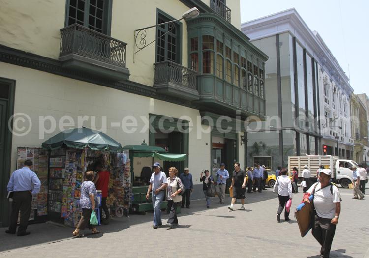 L'héritage colonial dans les rues de Lima