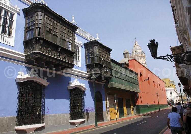 Balcons coloniaux, Lima