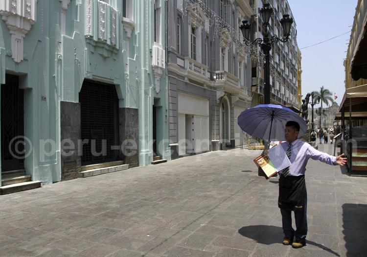 Visite guidée de Lima