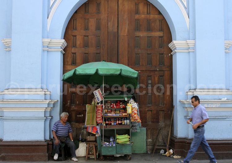 Vendeur ambulant, Lima