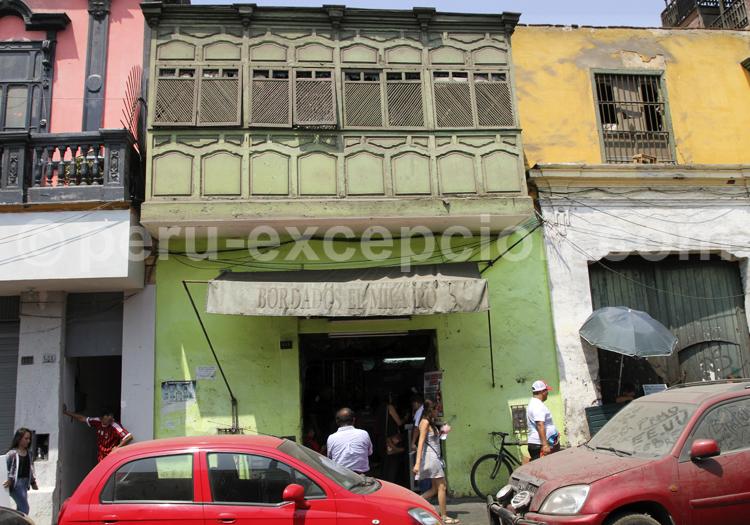 Balcon colonial, Lima