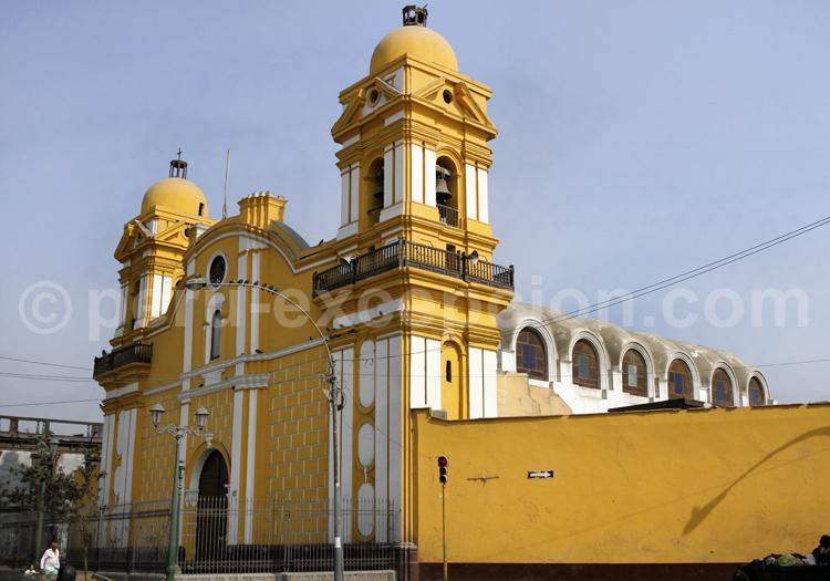 Eglise et couvent de Santa Clara, Lima