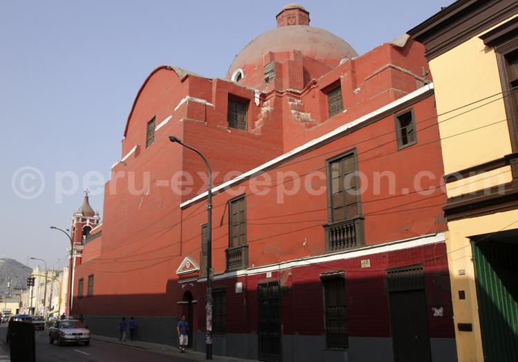 Iglesia Santa Ana, Lima