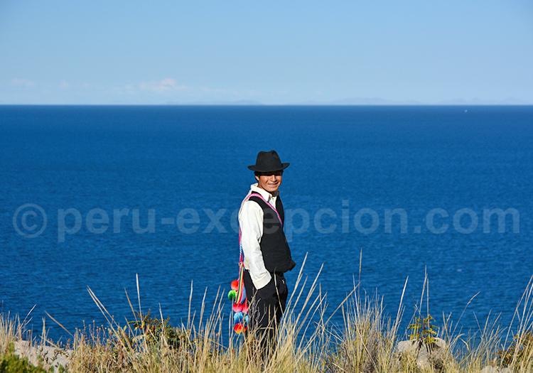 Portrait, Lac Titicaca