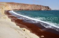 Réserve de Paracas- playa roja