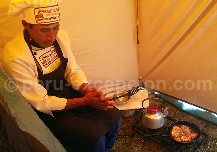 Preparation du repas