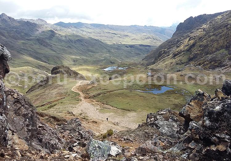 Vue sur la vallée, Cuzco