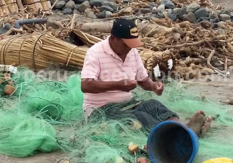 Pêcheur, Huanchaco