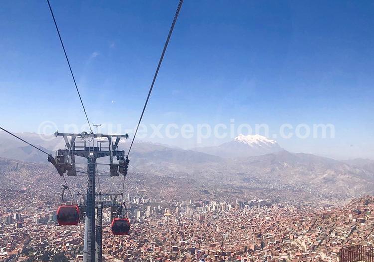 Le téléphérique de La Paz en Bolivie par Perú Excepción