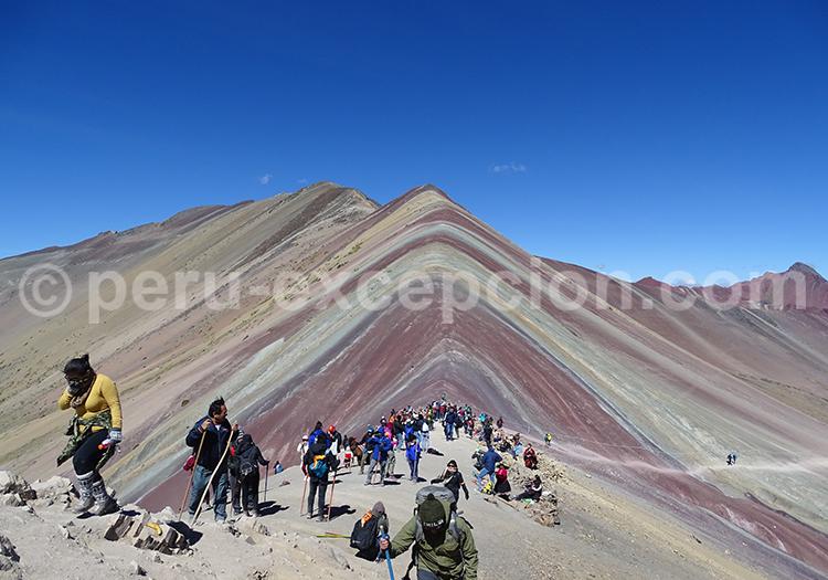 Circuit rainbow mountain Pérou avec Perú Excepción